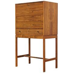 Rosewood Secretary Desk by Jason Møbler, Denmark, 1960s