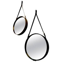 Adnet Style Wall Mirror