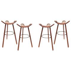 Set of Four Marbella Stools