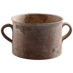 Ancient Roman Pottery Skyphos, 100 AD