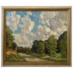 New England Landscape by Robert Emmett Owen