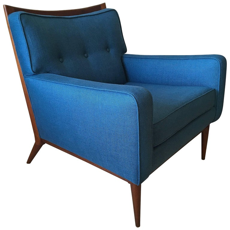 Awesome Paul Mccobb Lounge Chair For Calvin 1950S Bralicious Painted Fabric Chair Ideas Braliciousco