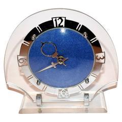 1930s Art Deco Perspex Clock