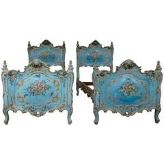 Early 19th Century Pair of Venetian Beds