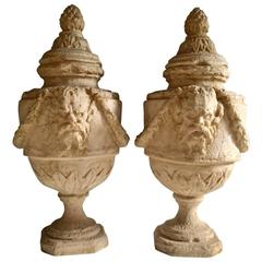 20th Century Neoclassical Resin Vases