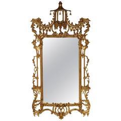 Italian Gilt Chippendale Mirror