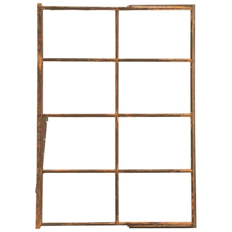 Antique American Steel Window