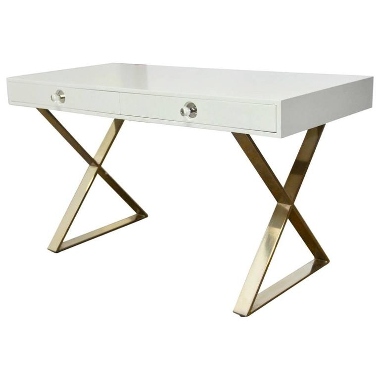 Jonathan Adler Campaign Style Channing Desk For Sale