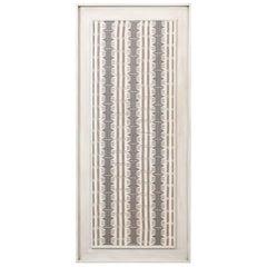 Large Framed Modernist Textile