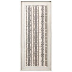 Large Framed Modernist Textile