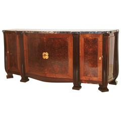 Sue et Mare Cabinet in Rosewood with Gilt Bronze