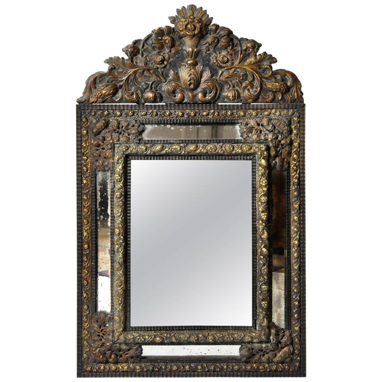 Dutch Baroque Mirror For Sale