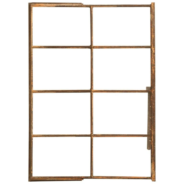 Antique Steel American Window