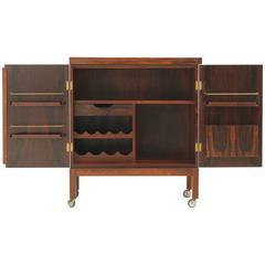 Torbjørn Afdal Rosewood Bar Cabinet