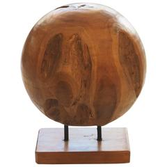 Huge Vintage Sculptural Wood Root Ball Weighs over 50 Pounds