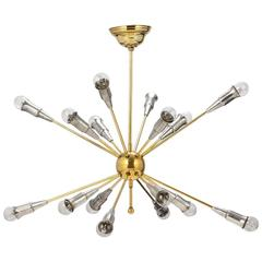 Sputnik Chandelier, French, 16 Arms, circa 1960