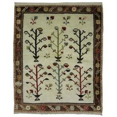Vintage Turkish Konya Carpet