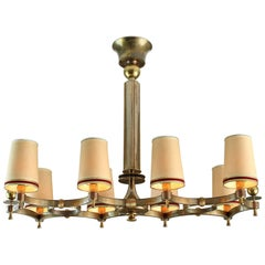 Maxime Old Exceptional Chandelier 1946