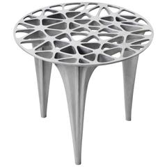 Sedona Small Side Table or Side Stool Polished or Brushed Stainless Steel