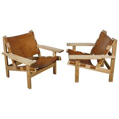 Pair of Kurt Ostervig Lounge Chairs