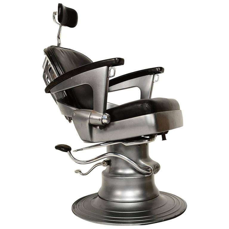 Barber Dentist : ... Art Deco Machine Age Barber Dentist Dental Chair For Sale at 1stdibs