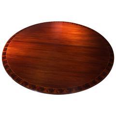 Large Federal Style Mahogany Circular Table