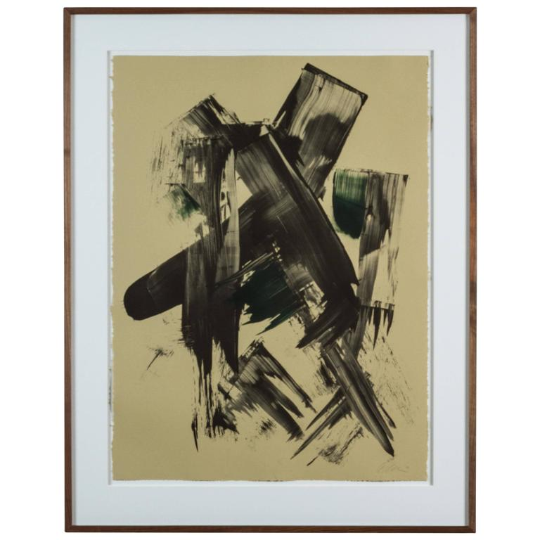 Mono Print by Anna Ullman For Sale