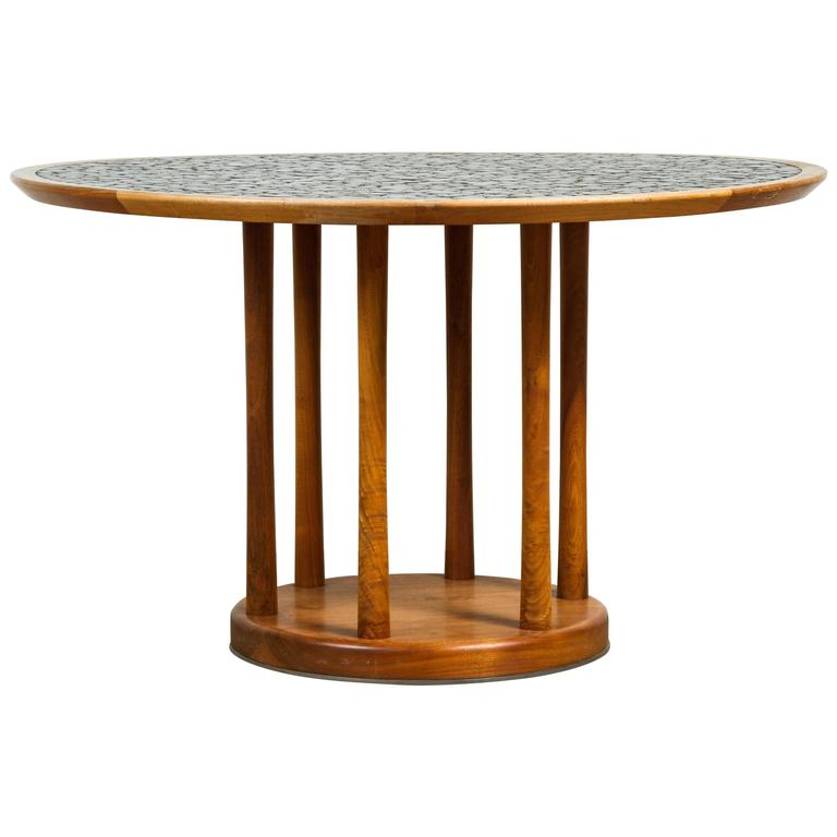 Round Studio Tiled Centre Table by Martz 1