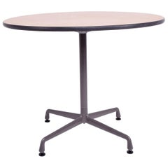Herman Miller Eames Round Aluminum Group Table