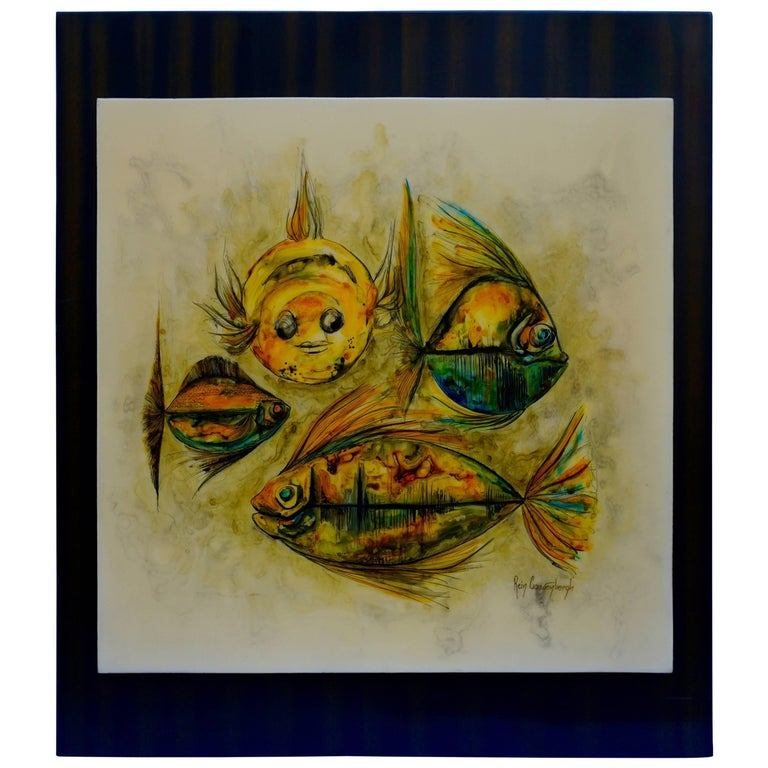 Painting by Rein Cauwenbergh For Sale