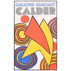Galery Maeght Calder Poster, Printed in France