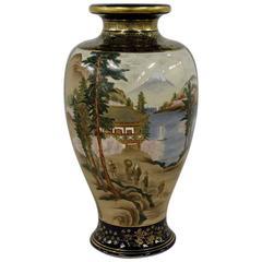 Imperial Satsuma Royal Vase, circa 1880s