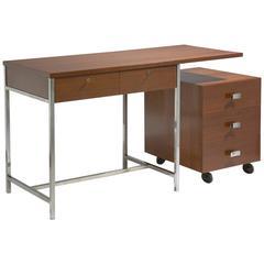Desk and Storage Unit