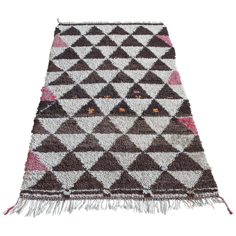 Moroccan Beni Ouarain Rug For Sale