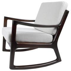 Ole Wanscher Rosewood Rocking Chair, circa 1960