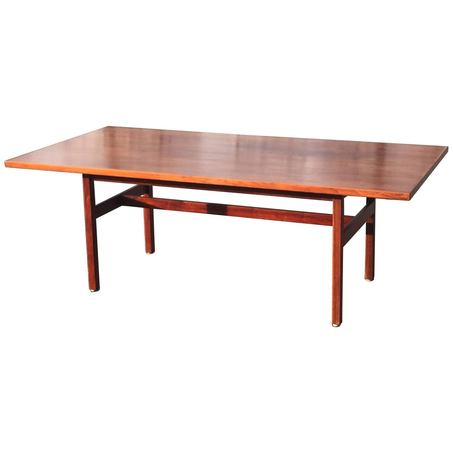 Jens risom floating bench for sale at 1stdibs - Mid Century Modern Jens Risom Dining Or Conference Table