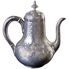 Early 19th Century George III, Silver Tea Kettle