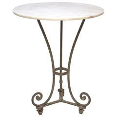 Tall French Cafe Table