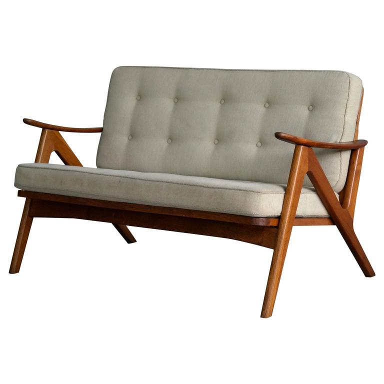 Arne Hovmand Olsen Style Danish 2seater Sofa Or Loveseat For