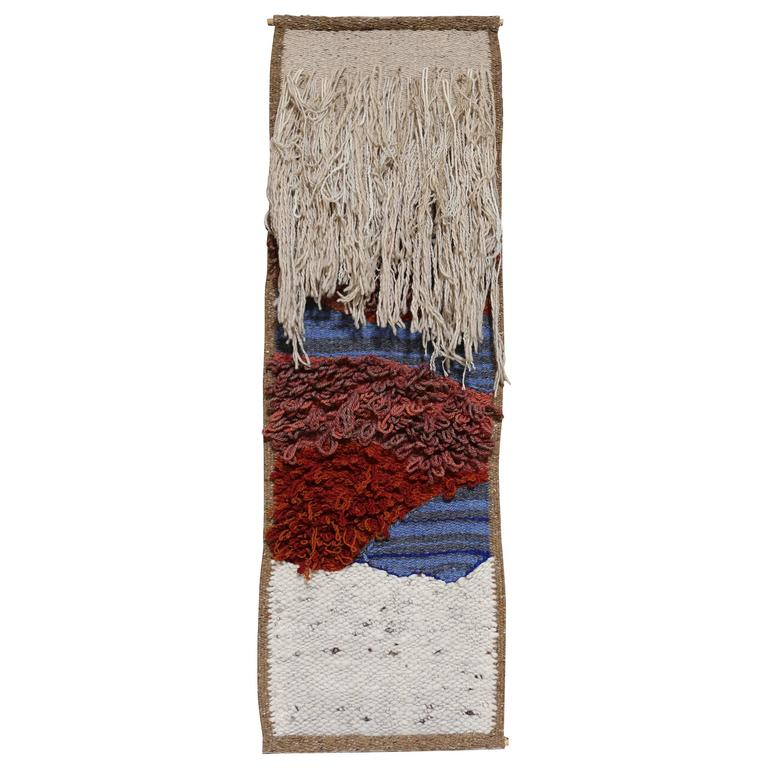 Sculptural Fiber Art Wall Hanging = MOVING SALE!!!!!!