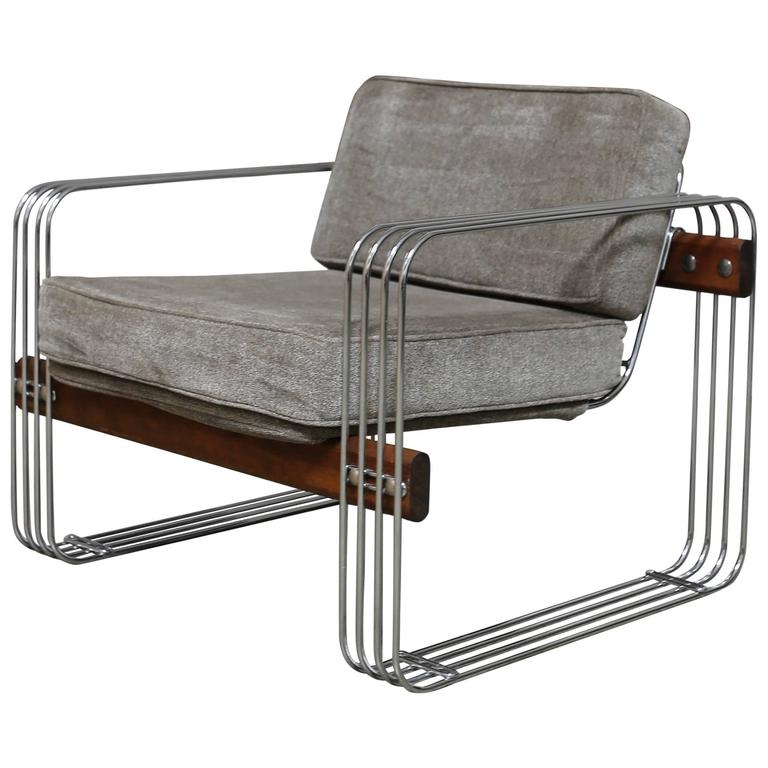 """""""Ascona"""" Lounge Chairs by Heinz Meier for Landes"""