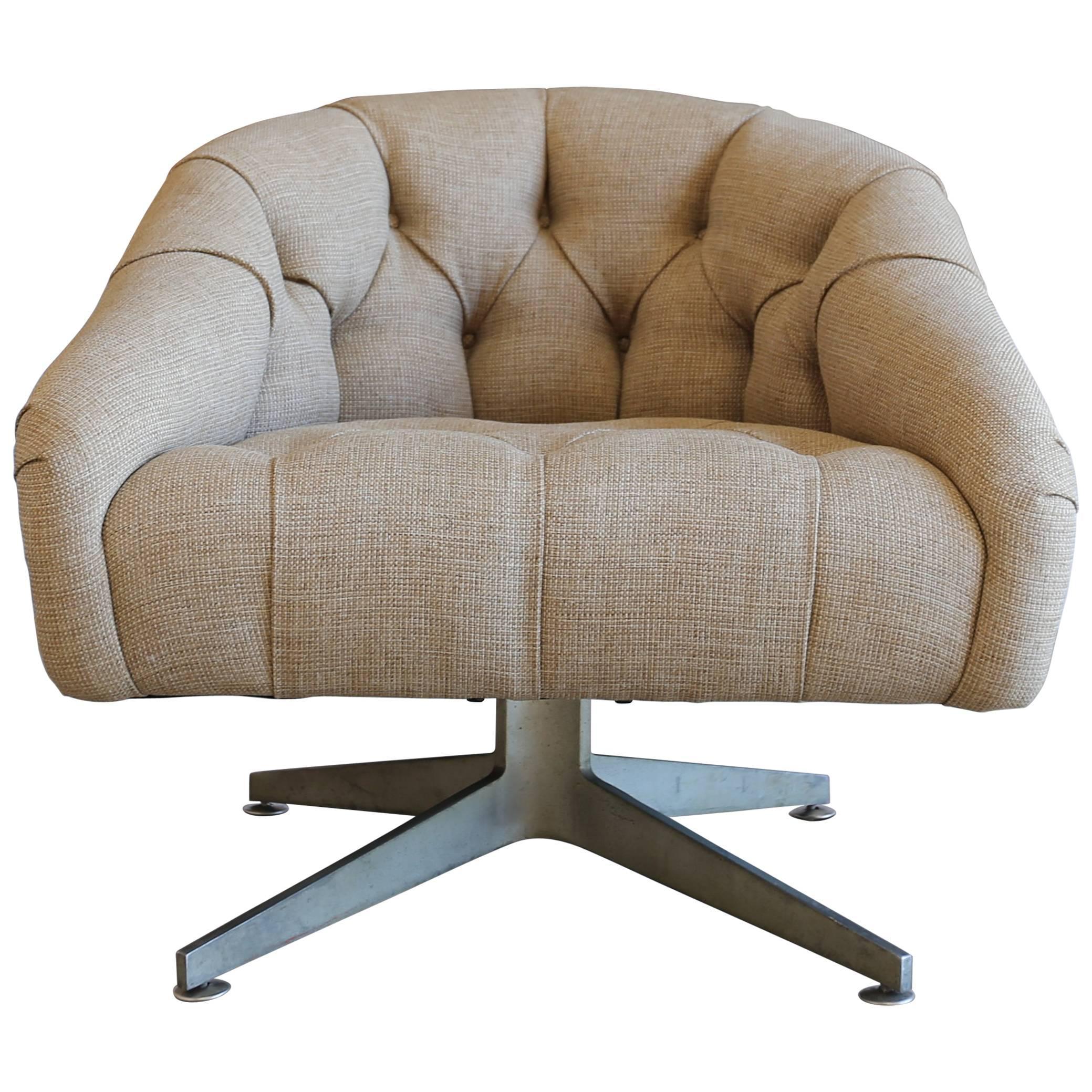 Swivel Lounge Chair by Ward Bennett