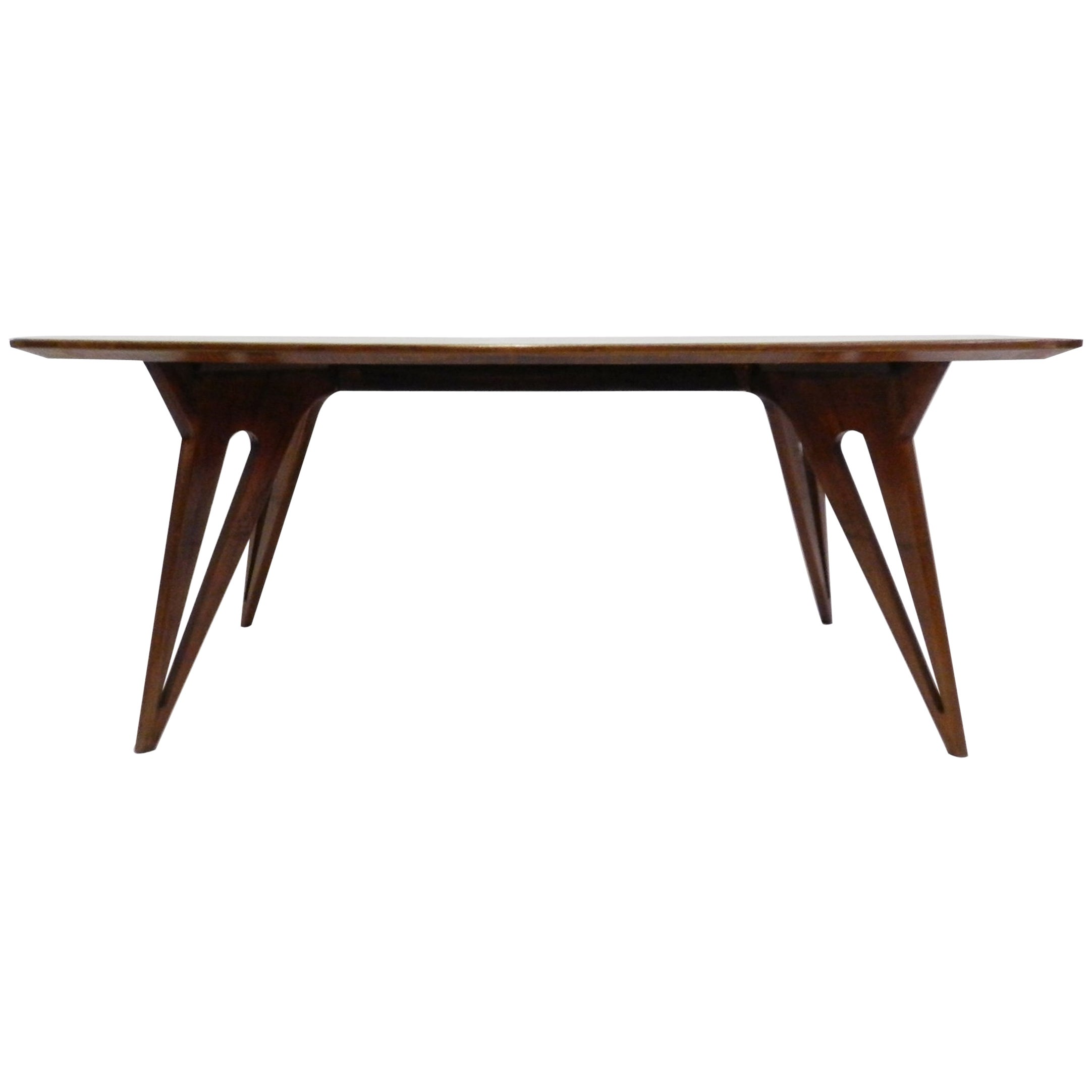 Stunning Italian Dining Table Ico Parisi Style