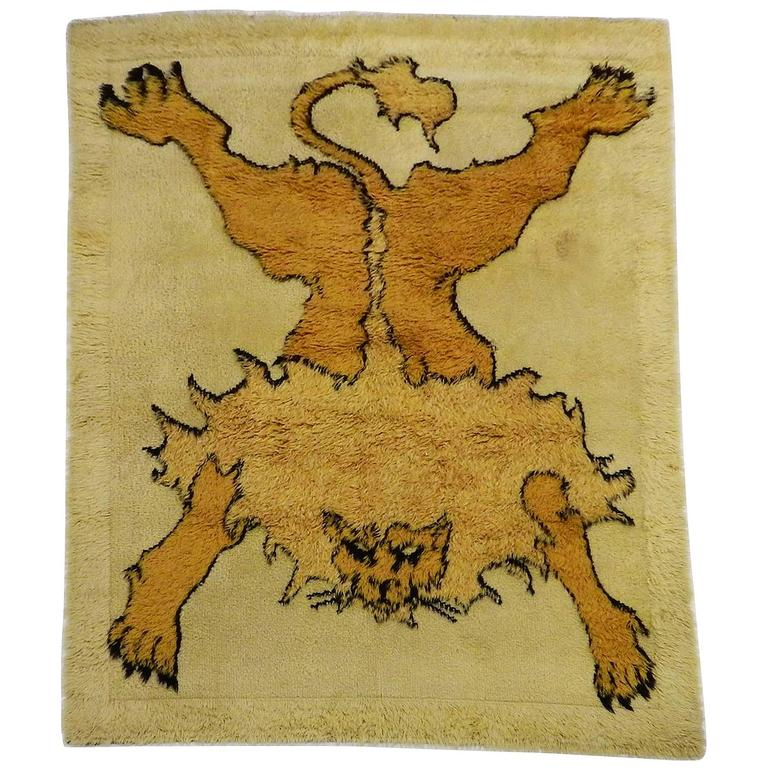 Art Rug In Limited Edition Mod Tapileo From The Serie