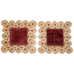 Pair of Decoration Pieces of Textiles