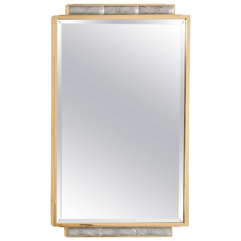 Art Deco Wall-Mirror