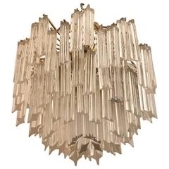 Mid-Century Italian Chandelier by Camer, circa 1970