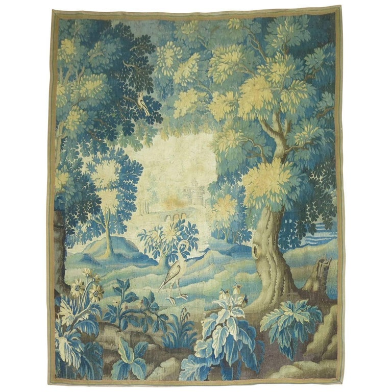 French Tapestry Wall Hanging For Sale