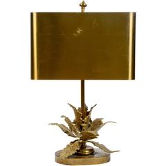 Elegant Small Bronze Table Lamp