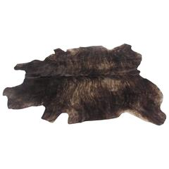 Large Natural Cow Hide Rug